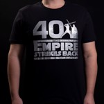 Star Wars - Empire Strikes Back 40th Anniversary Black T-Shirt - L - Packshot 3