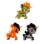 Tokidoki - Unicorno Halloween 3-Pack Figures - Packshot 1