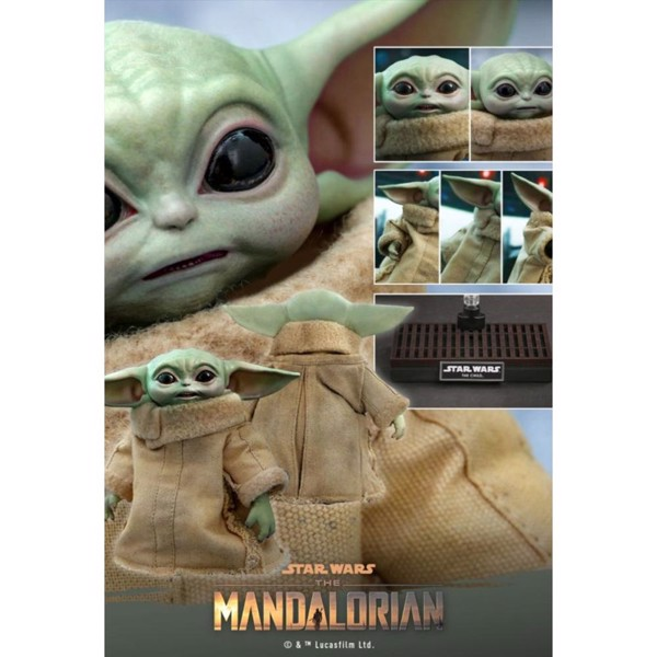 Star Wars - The Mandalorian - The Child 1/4 Scale Action Figure - Packshot 6