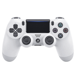 New PlayStation 4 DualShock 4 Wireless Controller - White - Packshot 1