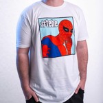 Marvel - Marvel 80th Anniversary - Spider-Man TeHe T-Shirt - Packshot 4