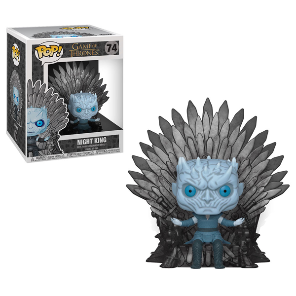 Game of Thrones - Night King on Iron Throne Pop! Vinyl Figure - Packshot 1
