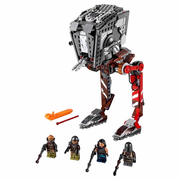 Star Wars - LEGO The Mandalorian AT-ST Raider - Packshot 2