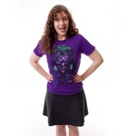 DC Comics - Joker Face Purple T-Shirt - Packshot 1