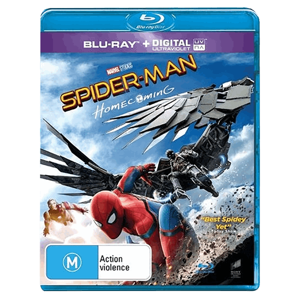 Marvel - Spider-Man: Homecoming Blu-ray - Packshot 1