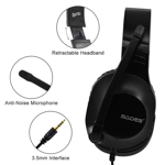 SADES Spirits Gaming Headset - Black - Packshot 2