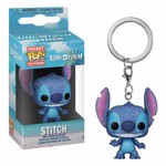 Disney - Lilo & Stitch - Stitch Diamond Glitter Pocket Pop! Keychain - Packshot 1