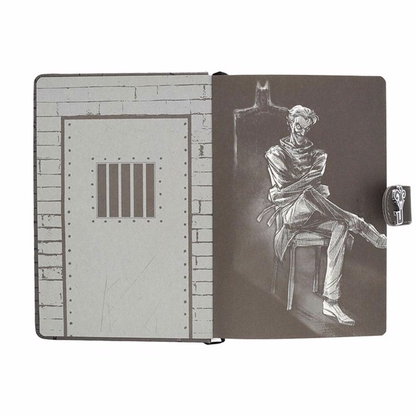 DC Comics - The Joker Asylum Cell Premium A5 Notebook - Packshot 2