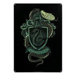 Harry Potter - Slytherin A3 Tin Sign - Packshot 1