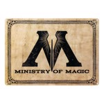 Harry Potter - Ministry of Magic A3 Tin Sign - Packshot 1