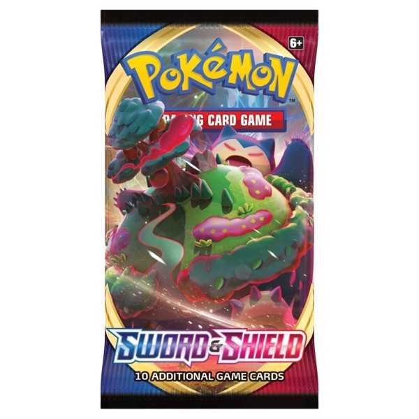 Pokemon - TCG - Sword & Shield Booster Pack - Packshot 3