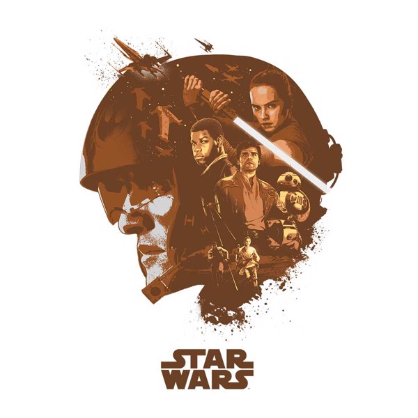 Star Wars - Rebels Collage T-Shirt - XXL - Packshot 2