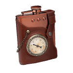 Capt. Jules' Everlasting Steampunk Flask - Packshot 1