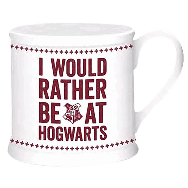 Harry Potter - Hogwarts Slogan Vintage Mug - Packshot 1