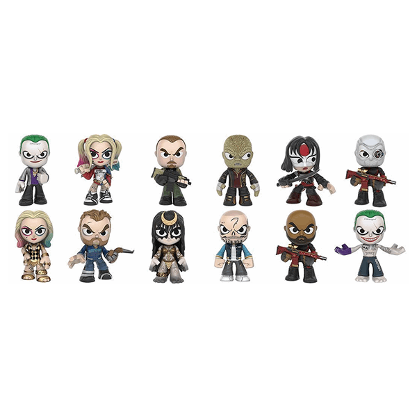 DC Comics - Suicide Squad - Mystery Mini Blind Box (Single Box) - Packshot 2