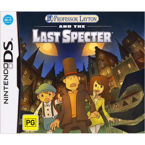 Professor Layton and the Last Specter - Packshot 1