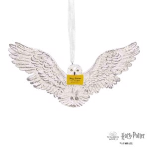 Harry Potter - Hedwig with Letter Hallmark Resin Ornament
