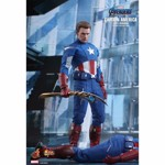 "Avengers 4 - Endgame - Captain America 2012 1/6 Scale 12"" Action Figure - Packshot 5"