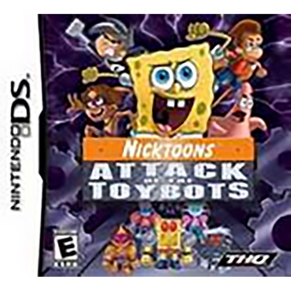 Nicktoons: Attack of the Toybots - Packshot 1