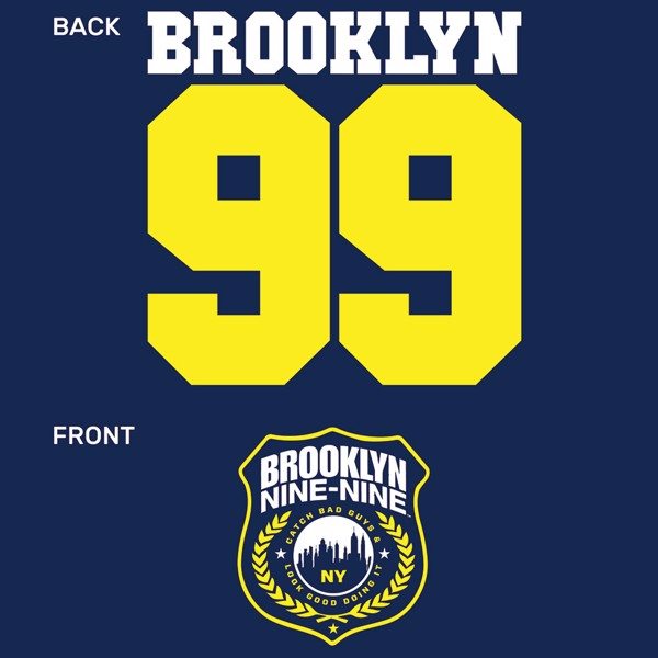 Universal - Brooklyn 99 Badge Female T-Shirt - XXL - Packshot 3