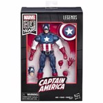 "Marvel - Marvel Legends 80th Anniversary Captain America 6"" Action Figure - Packshot 2"
