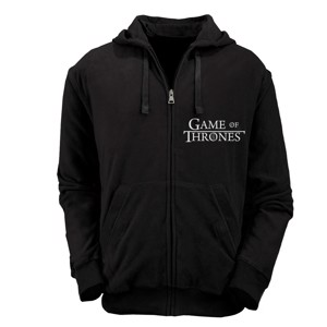 Game of Thrones - Black Logo Hoodie