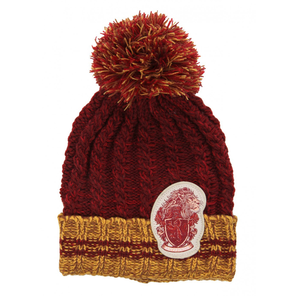 Harry Potter - Gryffindor Heathered PomPom Beanie - Packshot 1