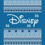 Disney - Blue Logo Christmas T-Shirt - L - Packshot 2