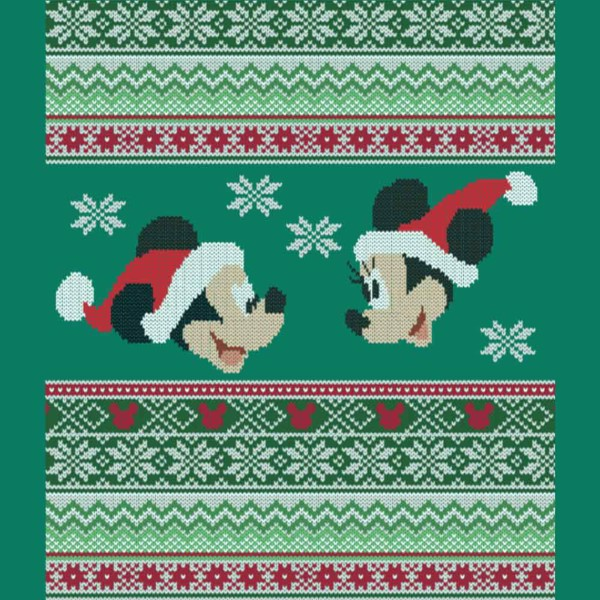 Disney - Mickey and Minnie Christmas T-Shirt - Packshot 2