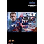 "Avengers 4 - Endgame - Captain America 2012 1/6 Scale 12"" Action Figure - Packshot 6"