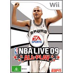 NBA Live 09 All Play - Packshot 1