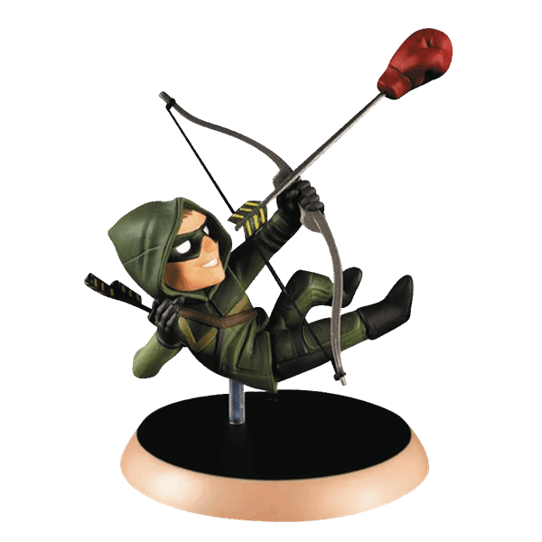 "DC Comics - Green Arrow 3.5"" Quantum Mechanix Q-Pop Figure - Packshot 1"