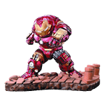 Marvel - The Avengers: Age of Ultron - Hulkbuster 27cm Egg Attack Statue - Packshot 1