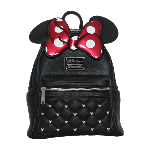 9c6841ea26a Disney - Minnie Mouse Black Loungefly Backpack