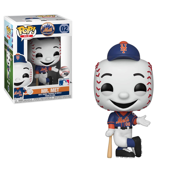 MLB - Mr Met Pop! Vinyl Figure - Packshot 1
