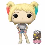 DC Comics - Birds of Prey - Harley Quinn with Beaver Pop! Vinyl Figure - Packshot 1