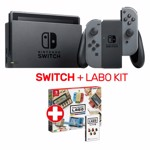 Nintendo Switch Grey Console + LABO Variety Kit - Packshot 1