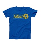 Fallout 76 - Logo Blue T-Shirt - XL - Packshot 1