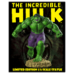 Marvel - The Incredible Hulk - Hulk Limited Edition 1/6 Scale Statue - Packshot 4