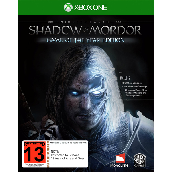 Shadow of Mordor: Game of the Year Edition - Packshot 1