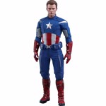 "Avengers 4 - Endgame - Captain America 2012 1/6 Scale 12"" Action Figure - Packshot 1"
