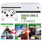 Xbox One S 1TB Console + 3 Games - Packshot 1