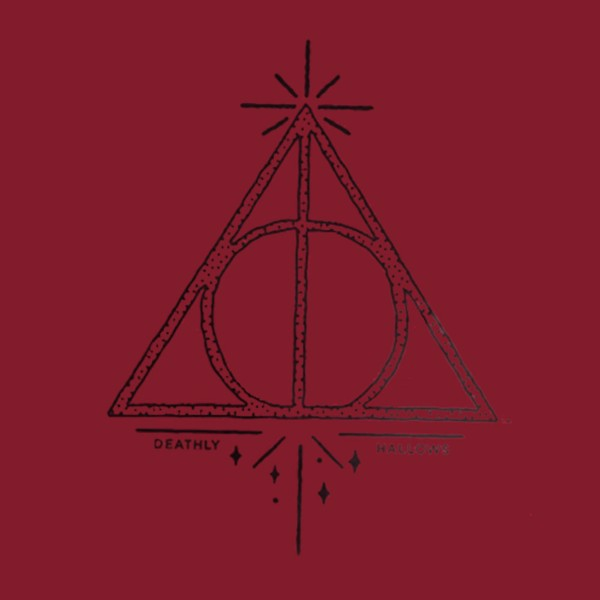 Harry Potter - Deathly Hallows Red T-shirt - Packshot 2