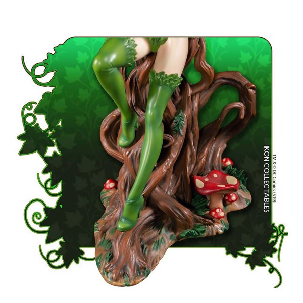 Batman - Poison Ivy on Vine Throne with Killer Flower Statue - Packshot 4