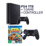 PlayStation 4 1TB Console + 1 Game + Controller - Packshot 1