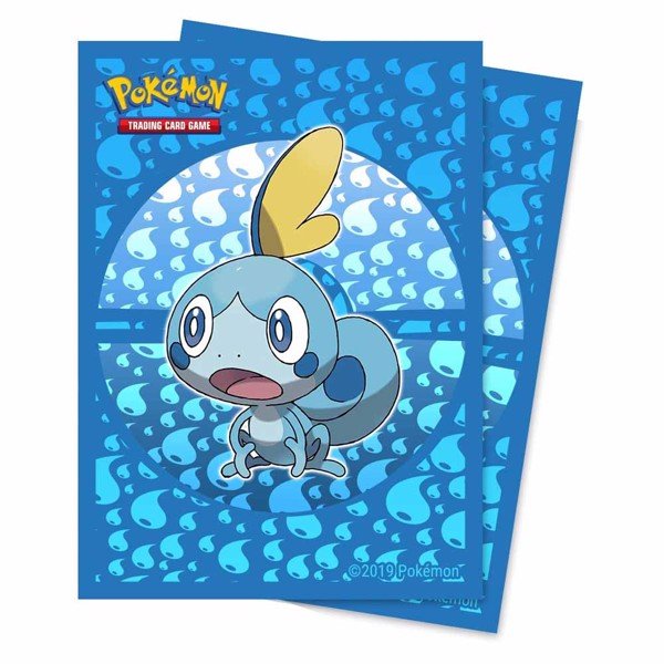 Pokemon - TCG - Sobble 65-Count Ultra Pro Deck Protector Sleeves - Packshot 1