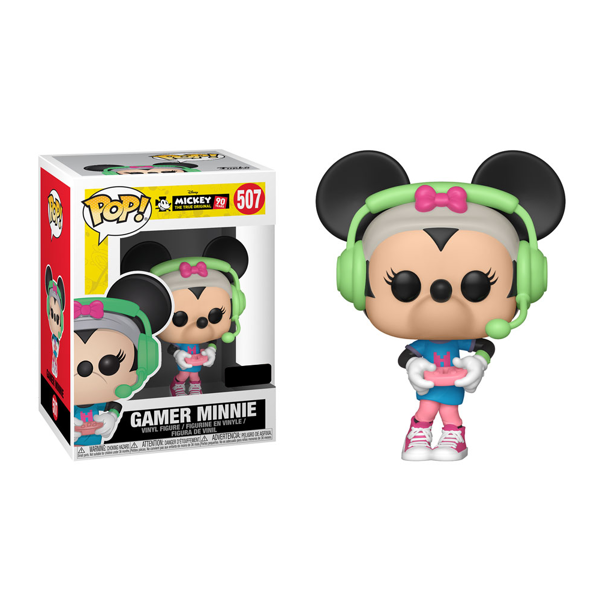 Disney - Minnie Mouse Gamer Pop! Vinyl Figure - Packshot 1