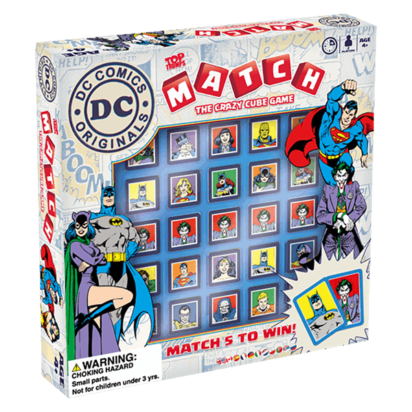 DC Comics - DC Comics Match Boardgame - Packshot 1