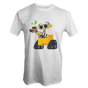 Disney - Pixar - Wall-E With Plant T-Shirt