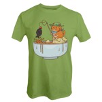 Catfood Soy Fishing T-Shirt - Packshot 1